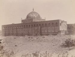 View from the south-east of the Jami Masjid, Bijapur.